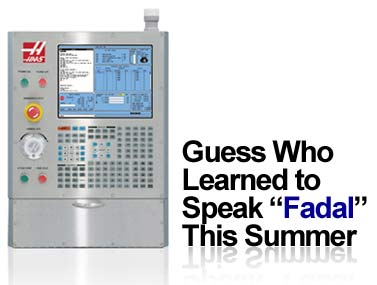Haas Speaks Fadal | The CNC Report