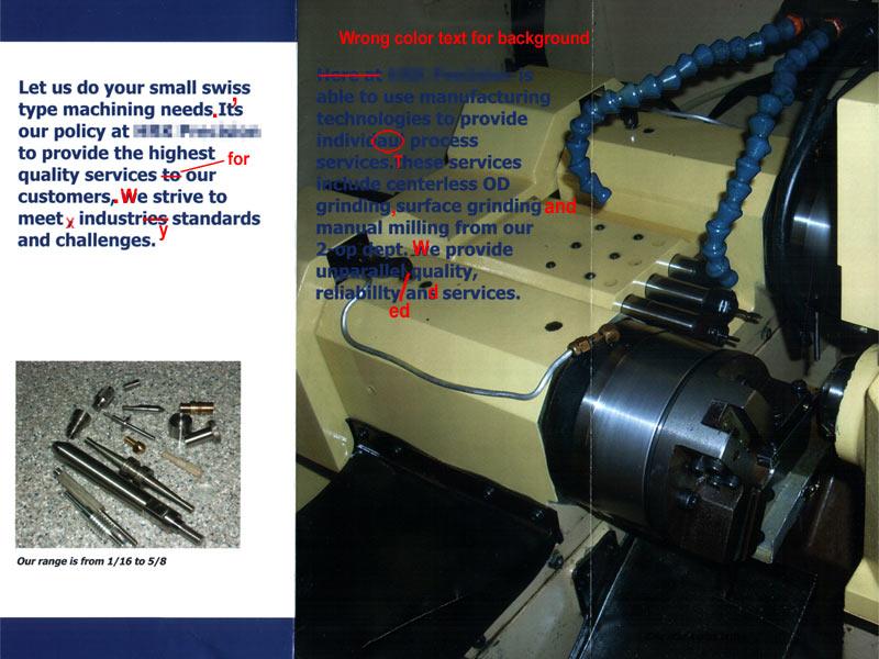 machine shop marketing